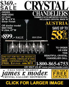 SPECIAL OFFER Chandelier at $369