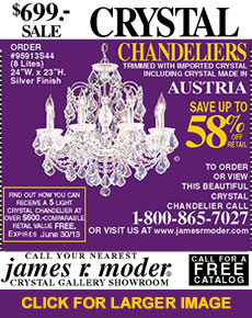SPECIAL OFFER Chandelier at $699