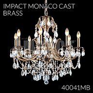 40041MB : Crystal Chandelier