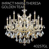 40257GL : Crystal Chandelier