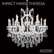 40258S : Crystal Chandelier