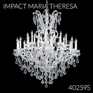 40259S : Large Entry Crystal Chandelier