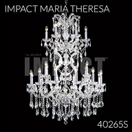 40265S : Crystal Chandelier