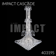 40319S : Large Entry Crystal Chandelier