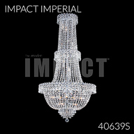 40639S : Large Entry Crystal Chandelier