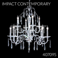 40709S : Crystal Chandelier