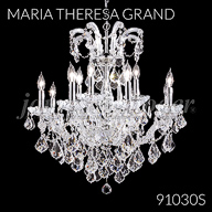 91030S : Crystal Chandelier