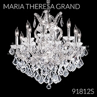 91812S : Crystal Chandelier