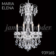 93916S : Crystal Chandelier