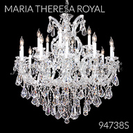 94738S : Crystal Chandelier