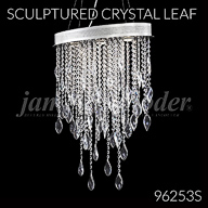 Sculptured Crystal Leaf Collection