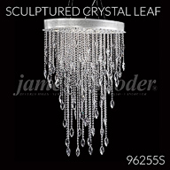 96255S : Sculptured Crystal Leaf Collection