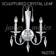 96272S : Sculptured Crystal Leaf Collection