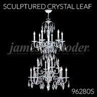 96280S : Sculptured Crystal Leaf Collection