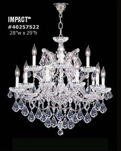James r moder crystal chandelier on sale aloadofball Gallery