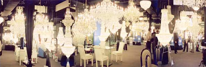 James r moder crystal chandelier about our company james r moder showroom mozeypictures Images